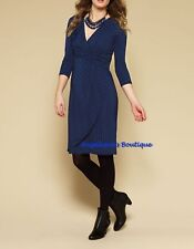 Monsoon Plus Size 3/4 Sleeve V Neck Dresses for Women