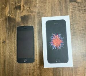 Used Apple iPhone SE - 64GB - Space Gray (Unlocked) A1723 (CDMAGSM) (CA)