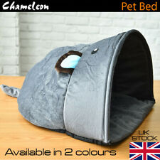 Pet Cat Dog Nest Bed Puppy Soft Warm Cave House Sleeping Bag  UK