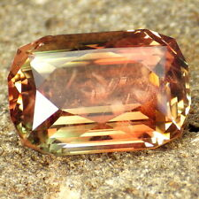 "RED PINK GREEN ""MYSTIQUE"" SCHILLER OREGON SUNSTONE 11.72Ct FLAWLESS-TOP INVESTM."