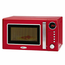 CLATRONIC MWG 790 Mikrowelle mit Grill rot 20L 700/1000W Microwelle Microwave