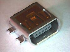 USB 2.0 Mini-AB Buchse für Printmontage SMD SMT OTG HDMI