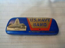 J- Vintage M. Hohner U.S. Navy Band Harmonica - Made in Germany
