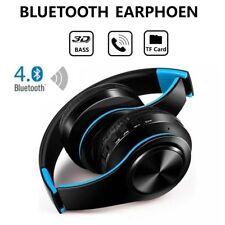 Wireless Headphones Bluetooth Headset Headphone Ear Earphones Mic Mobile  Music