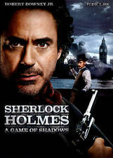 Sherlock Holmes: A Game of Shadows (DVD, 2012) NEW