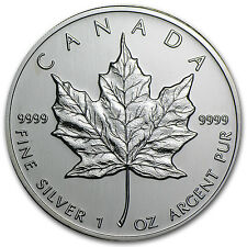 2002 Canada 1 oz Silver Maple Leaf BU - SKU #11067