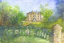 Cusworth Hall, Hand Signed, Titled and Mounted Print with COA