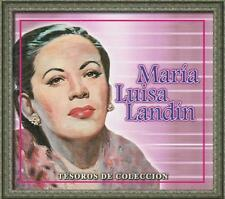 Maria Luisa Landin CD NEW Tesoros De Coleccion BOX SET Con 3 CDs 33 Canciones !