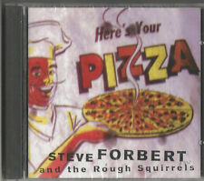 """STEVE FORBERT  and the Rough Squirrels """"Here´s your Pizza""""  CD 1997 NEU & OVP"""