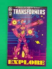 Transformers #12 1:10 Veregge RI Variant IDW Publishing 2019