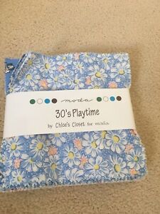 Chloes Closet Moda 30's Playtime Charm Pack