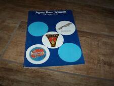 Catalogue / Brochure JAGUAR / ROVER / TRIUMPH 1977 //