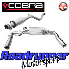 Cobra Sport Clio 197 Exhaust System Cat Back Stainless Resonated Quieter RN04