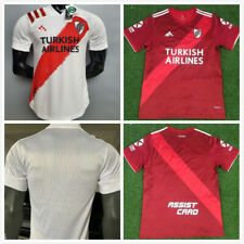 NEW 2020-2021 River Plate Home/Away Soccer Jersey Short Sleeves Man Tshirt S-XXL