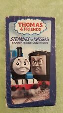 Thomas & Friends~STEAMIES vs. DIESELS  (vhs) TRAIN Childrens Tape