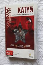 Katyn, Andrzej Wajda (DVD), Region-4, Like new (Disc:New) Free shipping Auswide