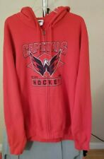 Washington Capitals NHL Majestic Red Capitals Hockey XL Hooded Sweatshirt