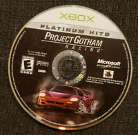 Project Gotham Racing Platinum Hits- Original Xbox Game DISC ONLY