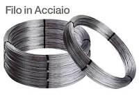 rotolo 25 kg filo ferro acciaio zincato per vigneti spessore Ø 2,7 mm bobina