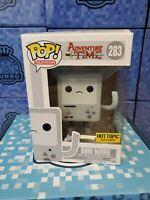 Funko POP! TV - Adventure Time Vinyl Figure - BMO NOIRE #283 (Exclusive) w/ prot