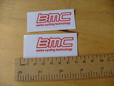 BMC Swiss Cycling Technology Bike Decals - Self Adhesive (t3rw)