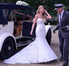 Allure Abito da sposa stile 9051 RRP £ 1700.00