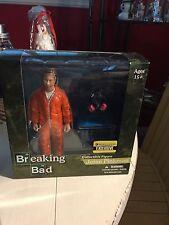 "Breaking Bad ""Jesse Pinkman"" Orange Vamonos Pest Hazmat Suit Action Figure"