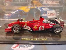 Michael Schumacher World Champion Ferrari F2002 1:43 by Altaya with full sponsor