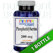 Phosphatidylserine 200mg 100 Caps by Vitamins Because