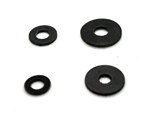 Rubber Form A Washers OR Penny Washers M8 M10. Pack of 10.