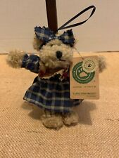 "Boyds Bear Christmas Ornament, Cappuccino Frenzy 5 1/2"" # 56271"