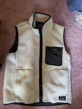 Men's Abercrombie Deep Pile Fleece Vest size medium