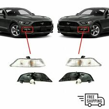 FOR FORD MUSTANG 2015-2018 NEW FRONT BUMPER INDICATOR REPEATER PAIR SET NEW