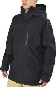 New 2019 Dakine Men's Sawtooth 3L Gore-Tex® Shell Snowboard Jacket Large Black