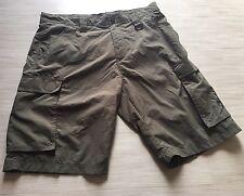 Boy Scouts Centennial Uniform Shorts Adult M Nylon Olive Green BSA Mesh Lined