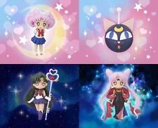 Sailor Moon Atsumete Figure vol.3 SET Chibi Usa Pluto Black Lady Luna P