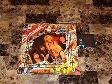 Paul Di'Anno SIGNED Battlezone Vinyl LP Iron Maiden Killers Heavy Metal Dianno !