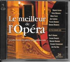 CD ALBUM 20 TITRES CLASSIQUE--LE MEILLEUR DE L' OPERA--ALAGNA/BERGANZA/CALLAS