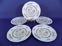 Adams Jeddo Salad Plates x 5