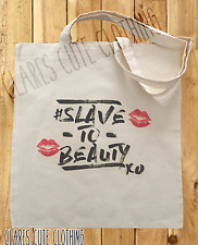 SLAVE TO BEAUTY TOTE/SHOPPING BAGS