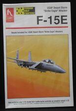 "Hobby Craft 1:72 F-15E USAF Desert Storm ""Strike Eagle"" Attacker Model Kit NIB"