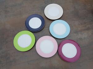 DIBBERN SOLID COLOR TELLER 19 CM NEU * diverse Farben - Originalware