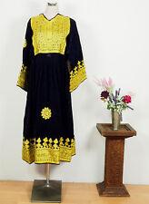Orient Nomaden Tracht afghan samt kleid afghanistan traditional velvet dress NR4