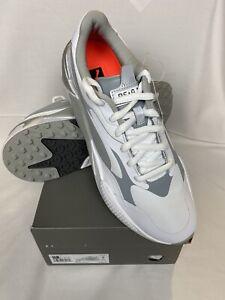 Puma RS-G white-quite shade-quarry Golf Shoes 2021 size 10.5 NEW 2021