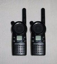 2 MINT Motorola CLS1110 UHF Business 2-Way Radios Walkie Talkie 1 Watt 1 Channel