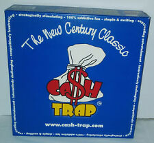 CASH TRAP BOARD GAME - MONEY THEME STRATEGY CHALLENGING TACTICAL - NEW CONTENTS