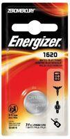 Energizer CR 1620 Lithium Coin 3V Batteries Single Pack ECR1620BP Exp: 2025