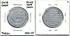 Medal: Gold Coast Cocoa Promotional Medal:  British Origin: Dated 1922-1923