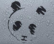 Adesivo decalcomania in vinile PANDA #3 auto moto finestra Grafica-DEC1063