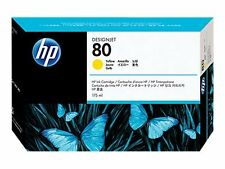 HP C4848A Hp80 Ink Tinte Yellow -b
